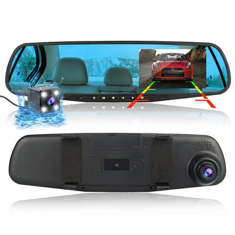 Видеорегистратор за автомобил, Дисплей 4.3