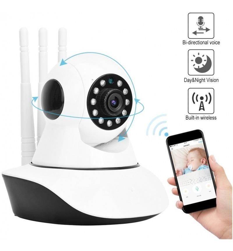 Robicam Wifi смарт камера с 3 антени – ᐉ IP Камера за Видеонаблюдение  RobiCam