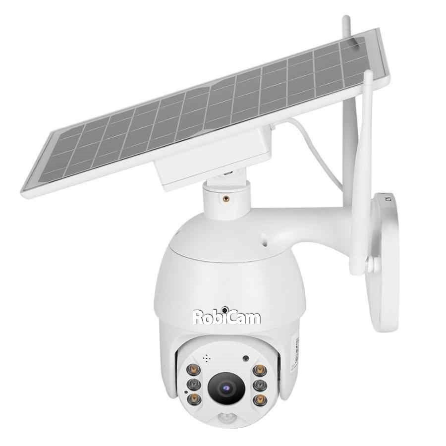 🔝 PTZ 4G Solar Robicam Full HD