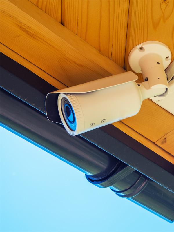 Външни камери за видеонаблюдение